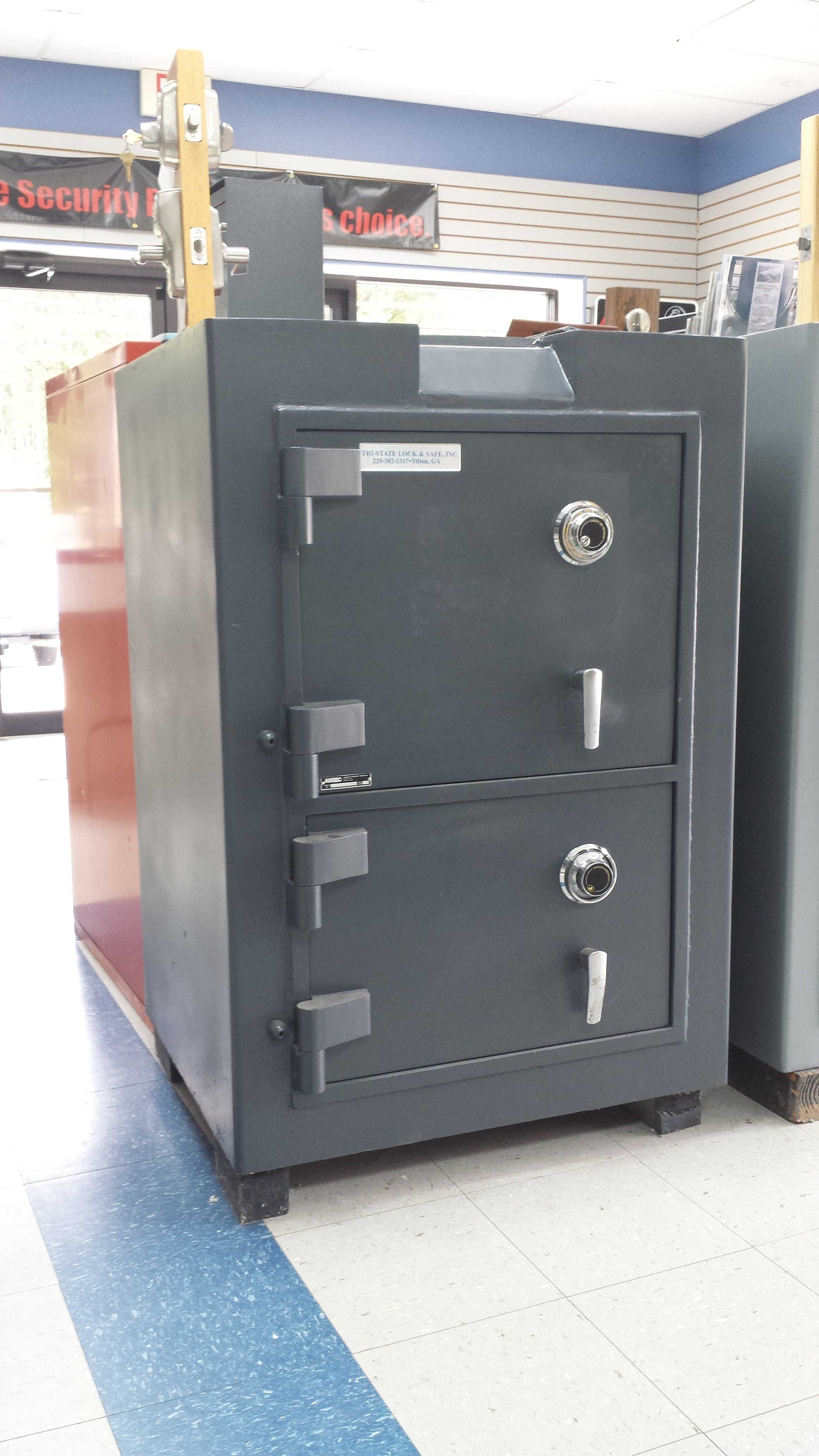 listed ul jun money depository door products lock photo double am drop southeastern digital with safe